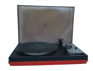 piros lemezjátszó